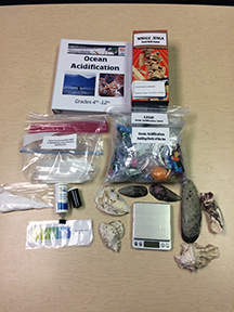 Contents of Ocean Acidification Kit