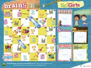 The BrainSTEM board game.