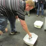 Testing buoyancy of drifters