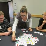 Teachers play game