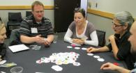 Teachers play Tiny Oligotrophic game