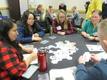 Teachers play Tiny Oligotrophic game